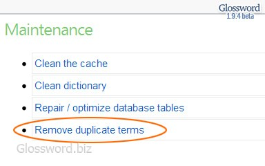 "Maintenance task ""Remove duplicate terms"". / 384×240, 19 KB"